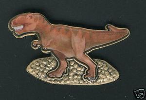 Tyrannosaurus Rex Lapel Pin