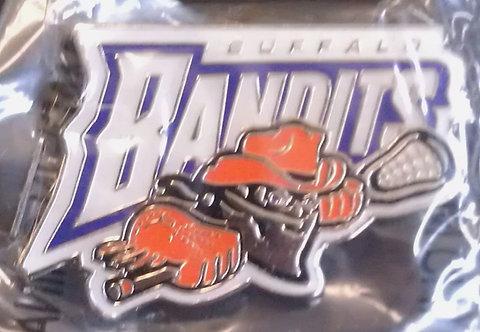 Buffalo BANDITS Lapel Pin