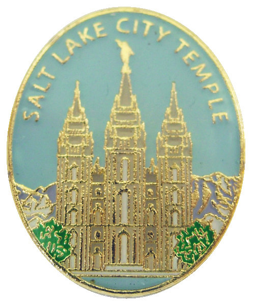 CM-4508 - Salt Lake City Temple Lapel Pin
