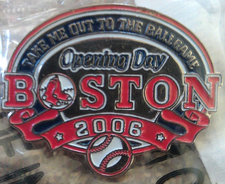 Boston Red Sox 2006 Opening Day Lapel Pin