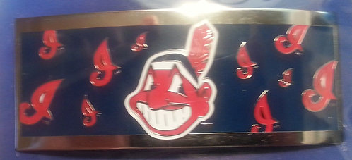 Cleveland Indians French Hair Clip