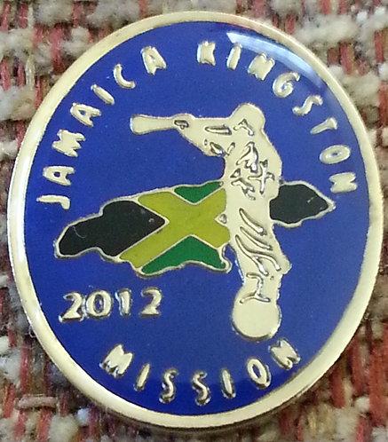 JAMAICA KINGSTON MISSION Lapel Pin