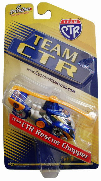 CM-4547 - Team-CTR Die Cast Car - Rescue Chopper