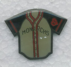 KANSAS CITY MONARCHS 1945 JERSEY Lapel Pin