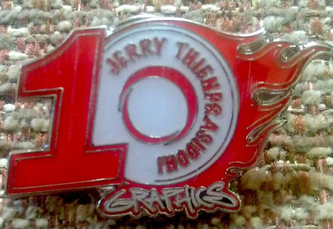 HW 2012 JERRY THIENPRASIDDHI 10 Year Dinner Pin