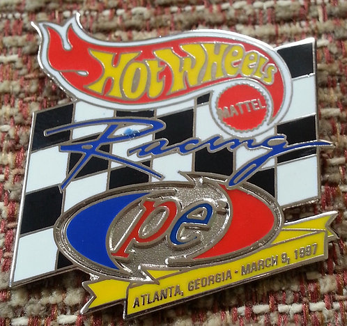 HW NASCAR Racing #44 / ATLANTA, GA Lapel Pin