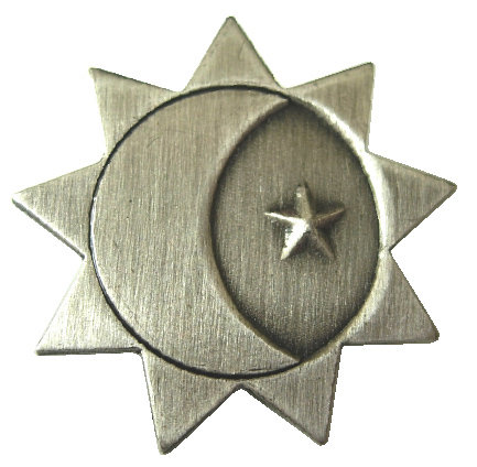 CM-3766G - Three Degrees of Glory Lapel Pin