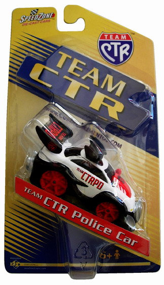 CM-4548 - Team-CTR Die Cast Car - Police Car