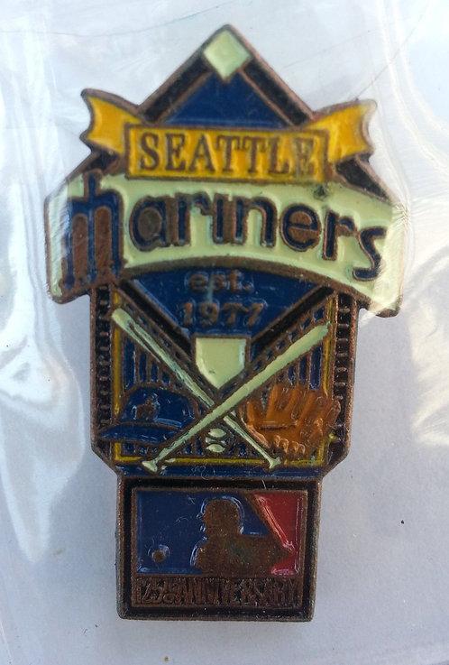 SEATTLE MARINERS 125th Anniversary of MLB Pin