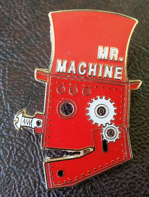 MR. MACHINE LAPEL PIN