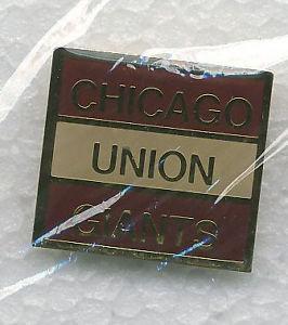 Negro League CHICAGO UNION GIANTS Lapel Pin
