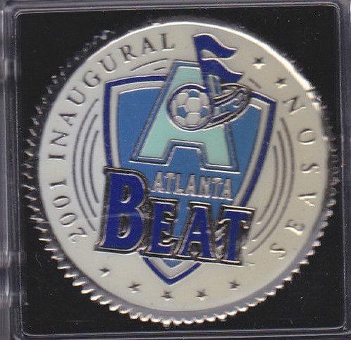 WUSA 2001 INAUGURAL SEASON ATLANTA BEAT COIN