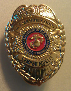 """United States Marine Corps USMC 1-1/4"""" Badge PIN"""