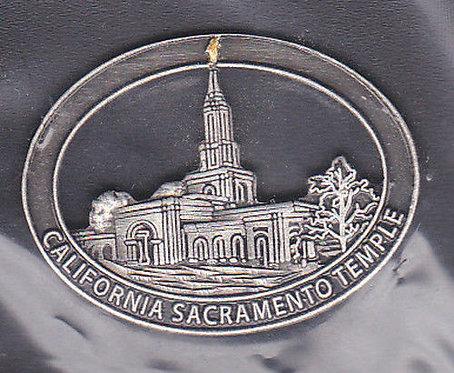 Sacramento California Temple Lapel Pin