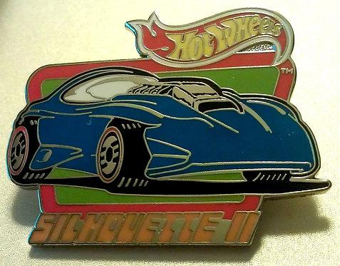 Hot Wheels SILHOUETTE II Lapel Pin