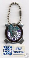 Rochester Knighthawks 4 Way Screwdriver Key Ring
