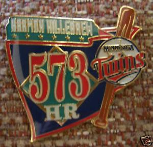 Harmon Killebrew 573 Home Runs Lapel Pin