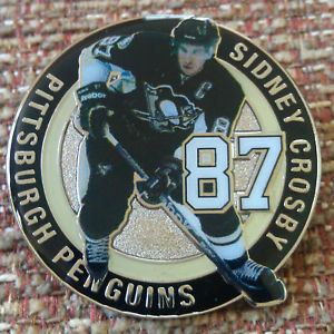 PITTSBURGH PENGUINS SIDNEY CROSBY #87 Lapel Pin