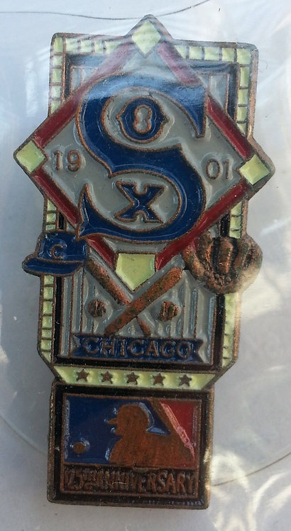 CHICAGO WHITE SOX 125th Anniversary of MLB Pin