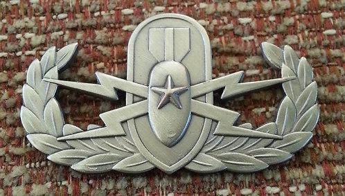"""LAPD BOMB SQUAD """"CRAB"""" Wings 1-3/4"""" Lapel Pin"""