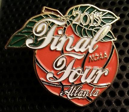 NCAA FINAL FOUR 2013 Atlanta Georgia Lapel Pin