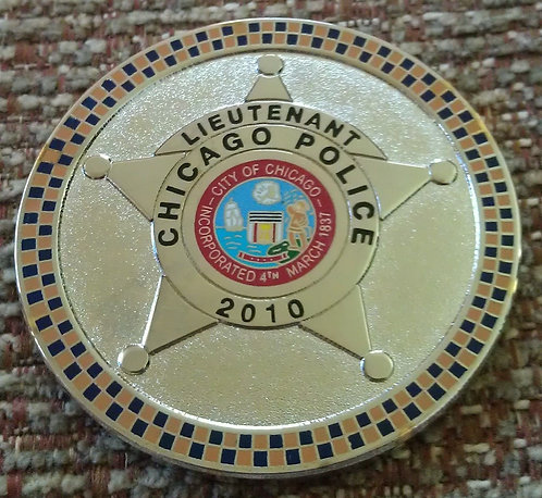 CHICAGO POLICE LIEUTENANTS ASSOCIATION COIN