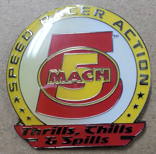 SPEED RACER MACH 5 - THRILLS, CHILLS, & SPILLS PIN