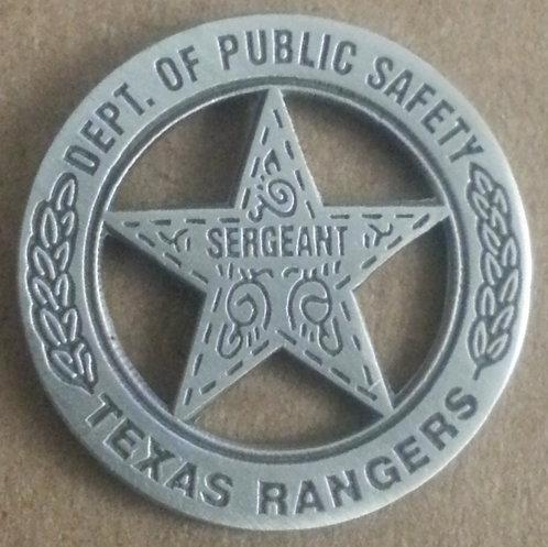 TEXAS RANGERS Dept. of Public Safety Lapel Pin