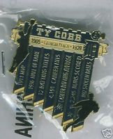 Ty Cobb Tigers Lifetime Achievement Lapel Pin