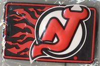 New Jersey DEVILS Rubber Luggage Bag Tag