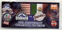 COLORADO ROCKIES Pin #7 of 10 Coca-Cola 2002 PIN