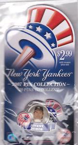 JOHNNY DAMON NEW YORK POST Lapel Pin