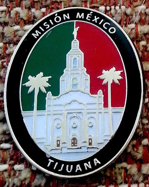 MEXICO TIJUANA MISSION Lapel Pin
