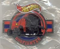 """Hot Wheels """"DOGFIGHTER"""" Lapel Pin"""