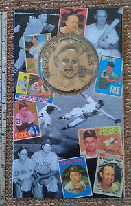 "Nellie Fox Chicago White Sox 1-3/4"" HOF Coin"