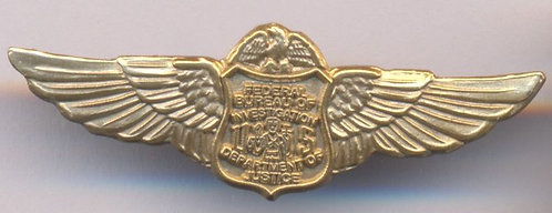 FBI Federal Bureau of Investigation WINGS PIN