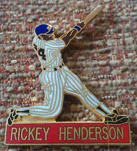 RICKEY HENDERSON PLAYER Lapel Pin