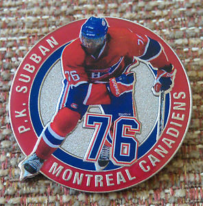 Montreal Canadiens P.K. SUBBAN #76 Lapel Pin