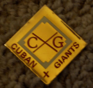 Negro League Baseball  CUBAN X GIANTS Lapel Pin