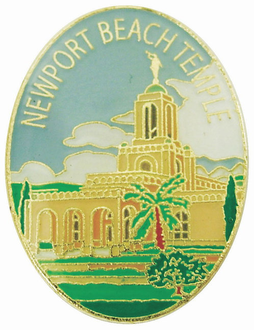 CM-4581 - Newport Beach Temple Lapel Pin