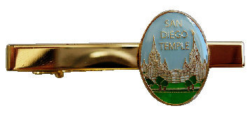 CM-4593-TB San Diego Temple Tie bar