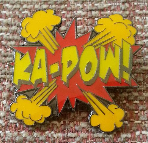 Batman KA-POW Lapel Pin