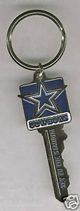 "DALLAS COWBOYS ""Key to the Stadium"" Key Ring"