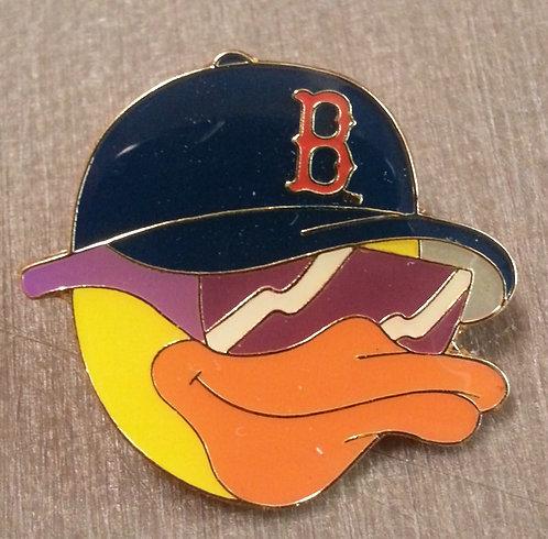 BOSTON RED SOX DUCK HEAD Lapel Pin
