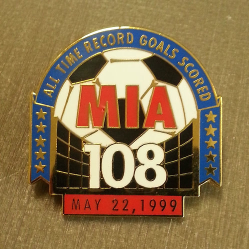 Mia Hamm #9 ALL TIME RECORD GOALS SCORED Lapel Pin