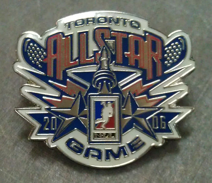 2006 ALL STAR GAME Lapel Pin / Toronto Canada