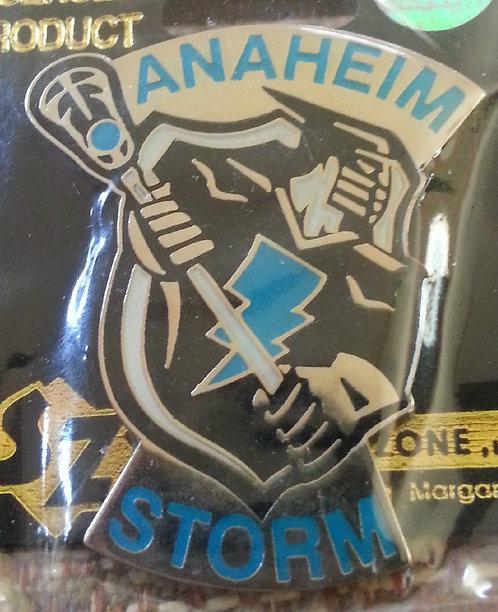 National Lacrosse League Anaheim STORM Lapel Pin