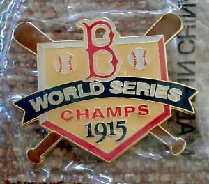 BOSTON RED SOX 1915 WORLD SERIES Lapel Pin