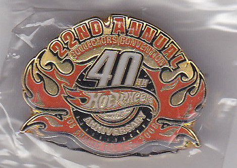 2008 CONVENTION - HW 40th Anniversary LAPEL PIN