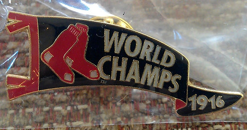 BOSTON RED SOX 1916 WORLD SERIES PENNANT Lapel Pin